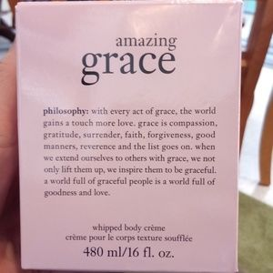 Philosophy brand amazing Grace whipped body creme